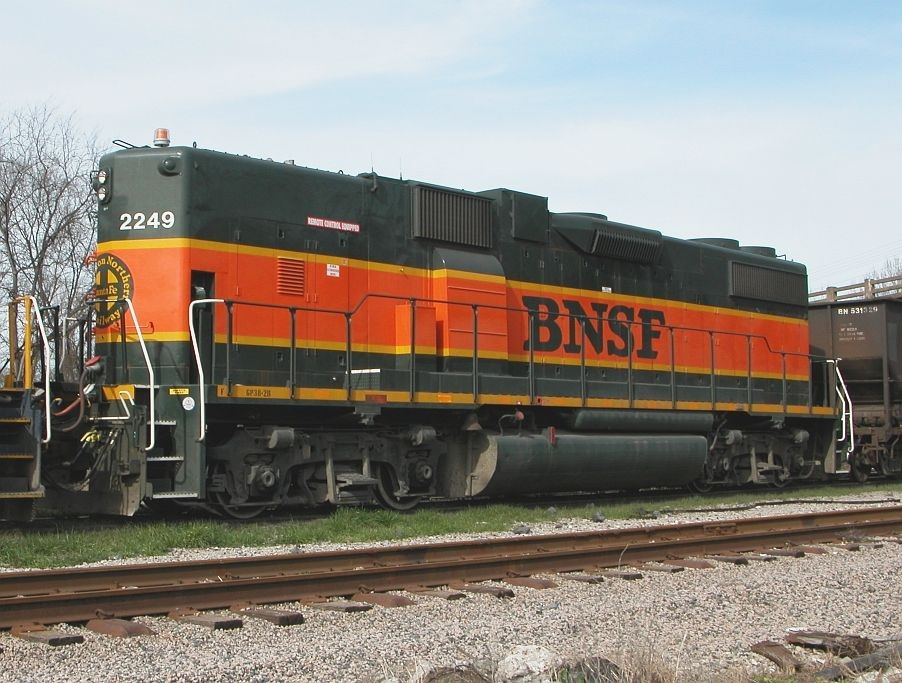 Booster BNSF 003 4.8.2018