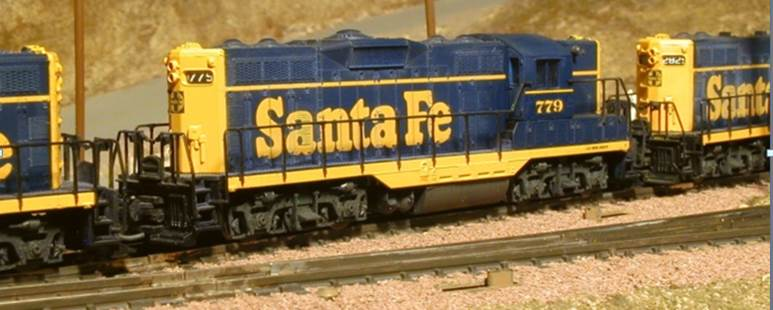 Santa Fe solid blue GP 9