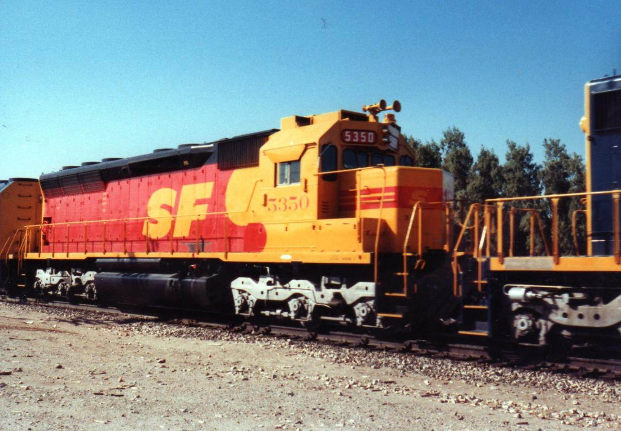 SD 45 Kodak SF 001 north americanrails